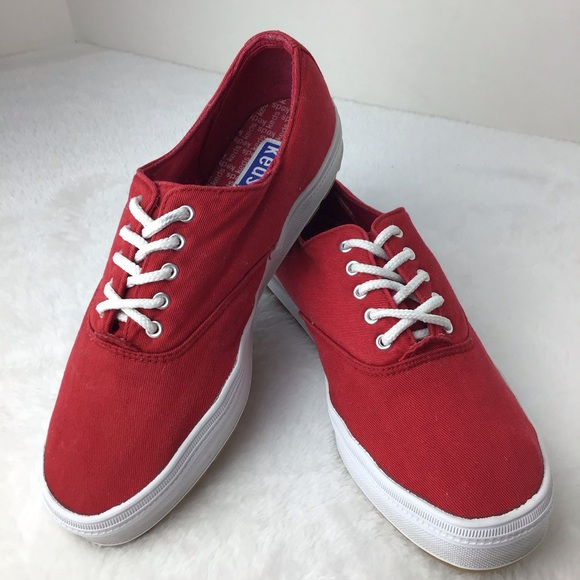 Keds Traditional Sneakers Red Size 7.5